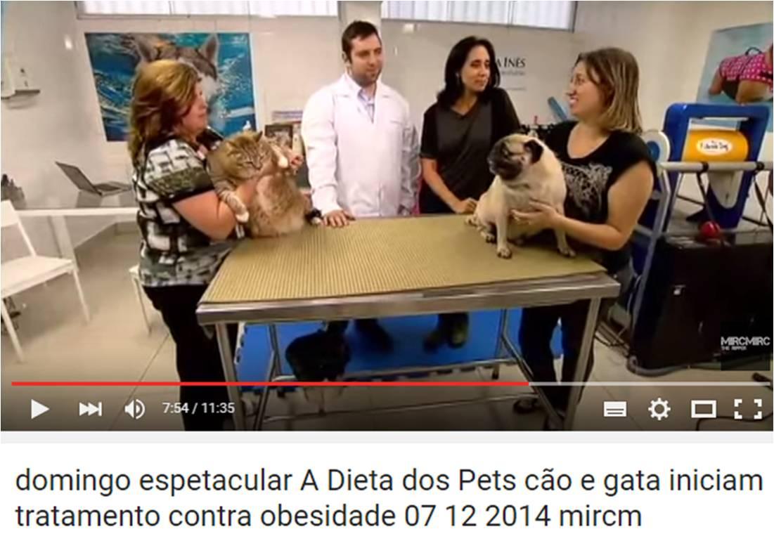 1° programa Dieta dos Pets – Domingo Espetacular