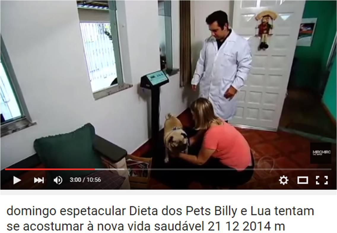 2° programa Dieta dos Pets – Domingo Espetacular