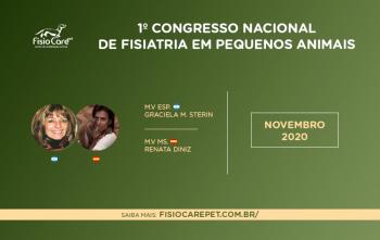 Primeiro Congresso de Fisiatria em Pequenos Animais – Saiba tudo sobre o evento!